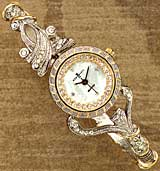 Victorian Bangle Watch