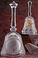 Lead Crystal Dinner Bells