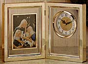 Picture Frame/Clock Combo